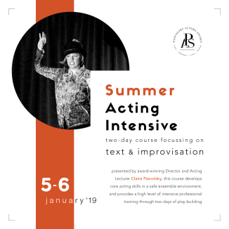 Summer Acting Intensive '19
