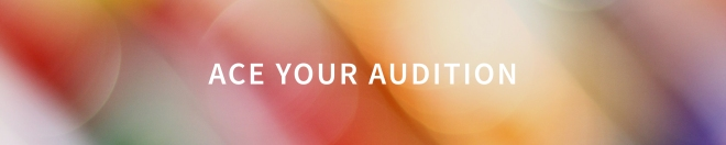 ace your audition button